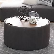 alex round storage table