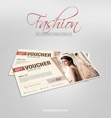 Free Fashion Gift Voucher Design Templategraphic Google