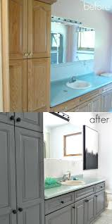 Home Depot Rustoleum Cabinet 25 Best Ideas About Cabinet Transformations On Pinterest Diy