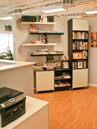 storage with office space. Home Office Design Captivating Interior Vintage Excellent White Minimalist Plywood Feats Joint Structure And Gloss Storage With Space