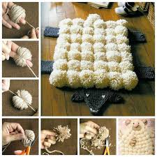 creative ideas diy easy pompoms with your own fingers