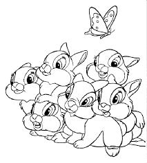 Disegni Da Colorare Coniglietti Amici Di Bambi Disegni Da Colorare