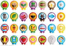 Online Badge Icons Badges On Behance Icons Mobile Web Apps