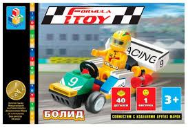 <b>Конструктор 1 TOY</b> Формула <b>1TOY</b> Т50749 Болид — купить по ...