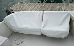 boat seat slip covers bench seat covered vinyl boat seat slip covers