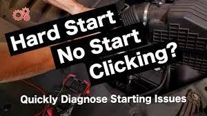 Car Wont Start No Clicking Noise Lights Work Hard Start No Start Clicks Find Why Your Car Wont Start Battery Alternator And Starter Issues