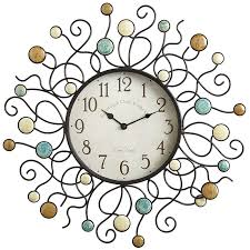Decorative Wall Clocks For Living Room Wall Clocks Home Decor Accents Pier 1 Imports