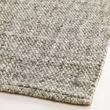 9x10 area rug handmade of natural felted wool our light gray sweater wool area rug boasts