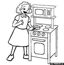 Small Picture Kitchen Coloring Pages Photos Good Pix Gallery kitchen coloring