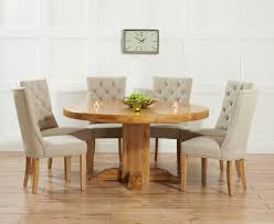 astonishing oak dining table and fabric chairs 55 about remodel for