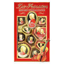 Reber Mozart Chocolate Specialties The finest 218g 7.7 oz – Peppery Spot
