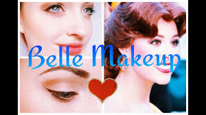 belle makeup tutorial disney princess series b you
