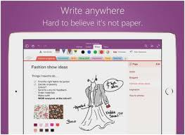 Microsoft Word Notebook Layout Lovely Enote For Ipad Ocr And