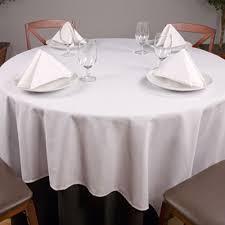 riegel permalux cotton blend round tablecloth 108 1 dz per case per dz