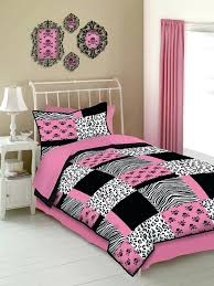 animal print bedding sets with curtains black and white leopard print bedding sewn unique color