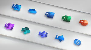 Ms Suite Microsoft Redesigns New Office Icons Recently Check The