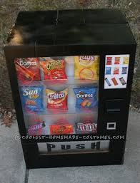 Vending Machine Costume Beauteous Boy's Awesome Vending Machine Costume Halloween Pinterest
