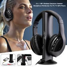 Set Tai Nghe Bluetooth 5 Trong 1 Không Dây Đa Năng Dùng Cho Pc Tv Mp3