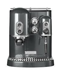 kitchenaid espresso machine artisan medallion silver