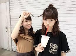 乃木坂46 画像館 Ar Twitter わかちゅきの髪型やばい めっちゃ