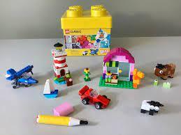 Bộ đồ chơi xếp hình LEGO Classic 10692 Sáng Tạo (221 Mảnh Ghép) - Dành cho  bé từ 4 tuổi trở lên