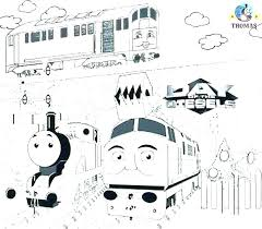 Thomas The Train Color Pages Train Coloring Pages The Train Tank