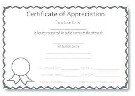 Sample Awards Certificate Sample Blank Certificate Of Recognition Best Award