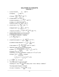 H C Verma Part 1 Solution By System Of Avinash Issuu