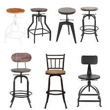 dining chairs bar stools. industrial bar stool swivel barstools vintage kitchen dining chair optional type chairs stools