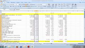 Financial Modeling Example Building Financial Models For Valuation Case Study_accenture