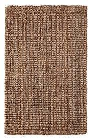 iron gate handspun jute area rug 5x8 hand woven by skilled artisans 100 jute