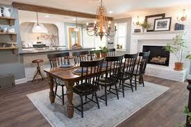 adorable joanna gaines kitchen table on magnolia home by dining room 7 vase turned