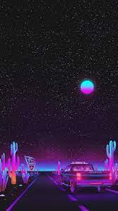 Vaporwave Night Wallpaper - KoLPaPer ...