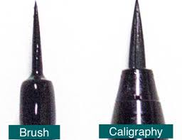 liquid eyeliner brush. brush types - liquid eyeliner h