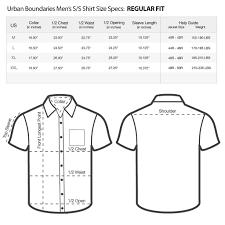 Men S Sweater Size Chart Mens Size Charts Urban Boundaries