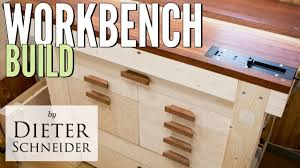 building a solid woodworking workbench from lumber