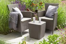 three piece rattan furniture set