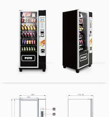 Soda Vending Machine Dimensions Amazing Kimma Vending Machine For Advertising For Sale Combo Drink And Snack