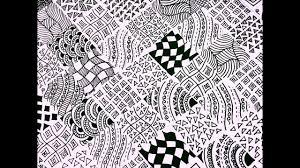 Zentangle Patterns Easy Simple Design Ideas