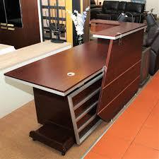 round office desks. Top 65 Matchless Modern Reception Desk Hair Salon Wood Cool Desks Round Finesse Office E