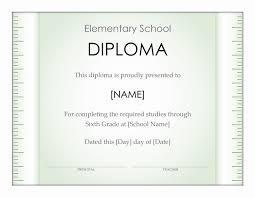 elementary school diploma certificate ruler design office  elementary school diploma certificate ruler design