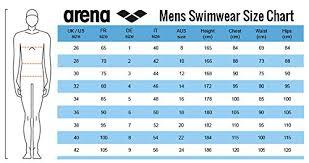Arena Swimsuit Size Chart Amazon Com Arena Mens Camouflage Swim Short Black