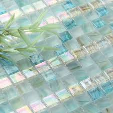 home elements crystal glass tile frosted glass tile green mosaic tiles glossy mosaic tiles kitchen mosaic tiles irg0043