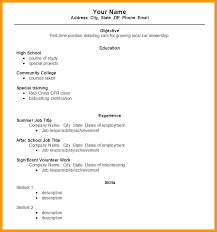 how to write a simple resume how to write a simple resume how to write a simple resume for a job
