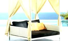 Patio Daybed With Canopy Outdoor 3 Person Patio Daybed Canopy Gazebo ...