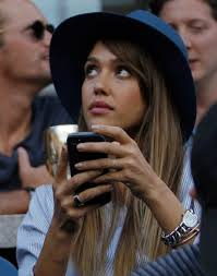 us open seats of fame emirates 24 7 actress jessica alba watches rafael nadal of spain face novak djokovic of serbia in the men s final match at the u s open tennis championships in new york