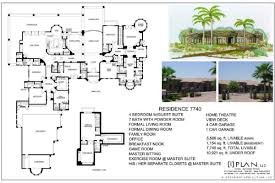 8000 square foot house plans inspirational 6 bedroom house floor plans trendy traditional style house plan