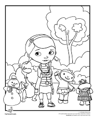 Small Picture Doc McStuffins Coloring Pages Plus She is a Great Role Model