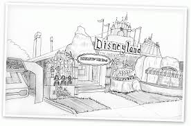 Small Picture Disneyland Coloring Pages To Download And Print For Free