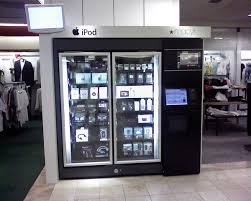 Apple Vending Machine Cool IPod Vending Machine